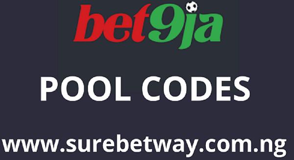Bet9ja Pool Codes