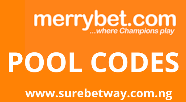 Merrybet Pool codes