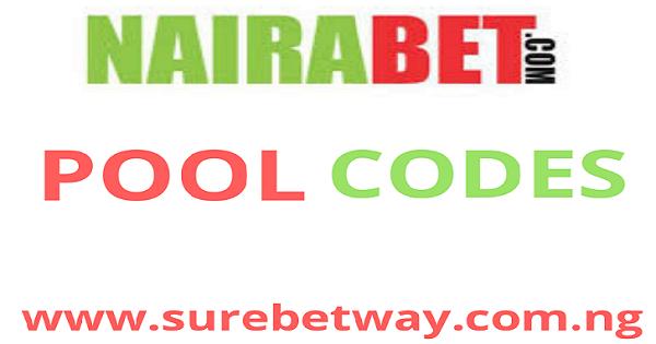 Nairabet Pool Codes