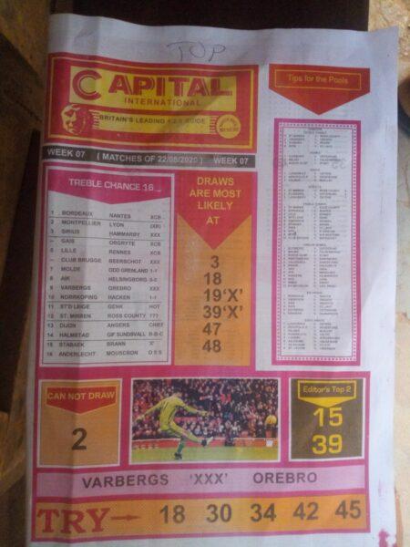 week 7 capital international 2020 - page 1