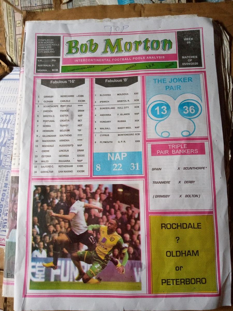 week 9 bob morton 2020 page 1