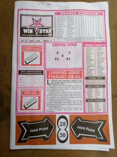 week 12 winstar 2020 - page 1