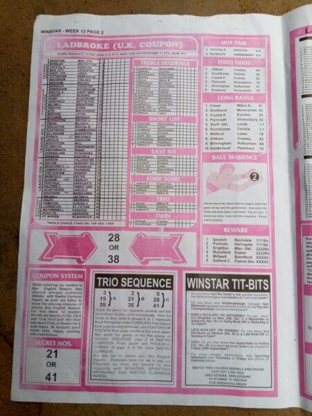 week 12 winstar 2020 - page 2