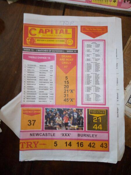 week 13 capital international 2020 - page 1