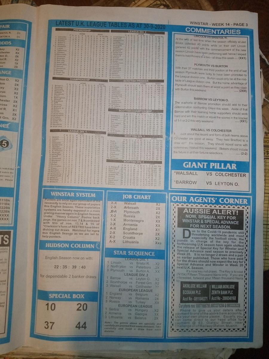 week 14 winstar 2020 page 3
