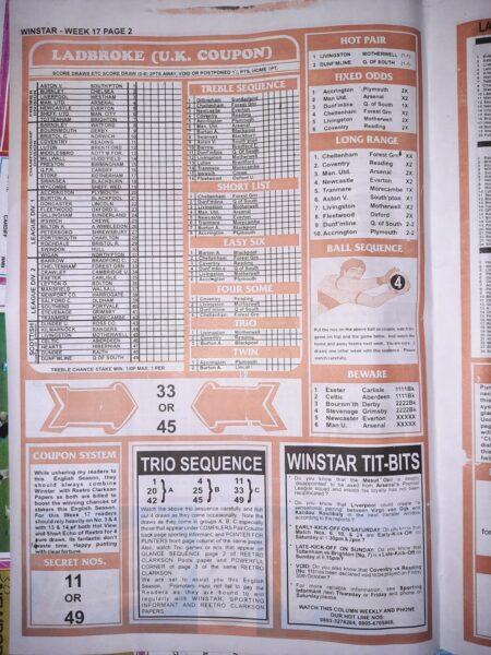 week 17 winstar 2020 page 2