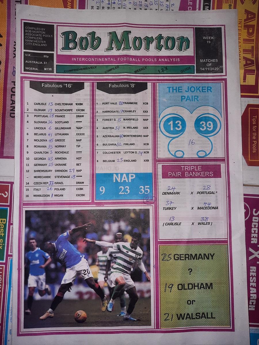 week 19 bob morton 2020 page 1