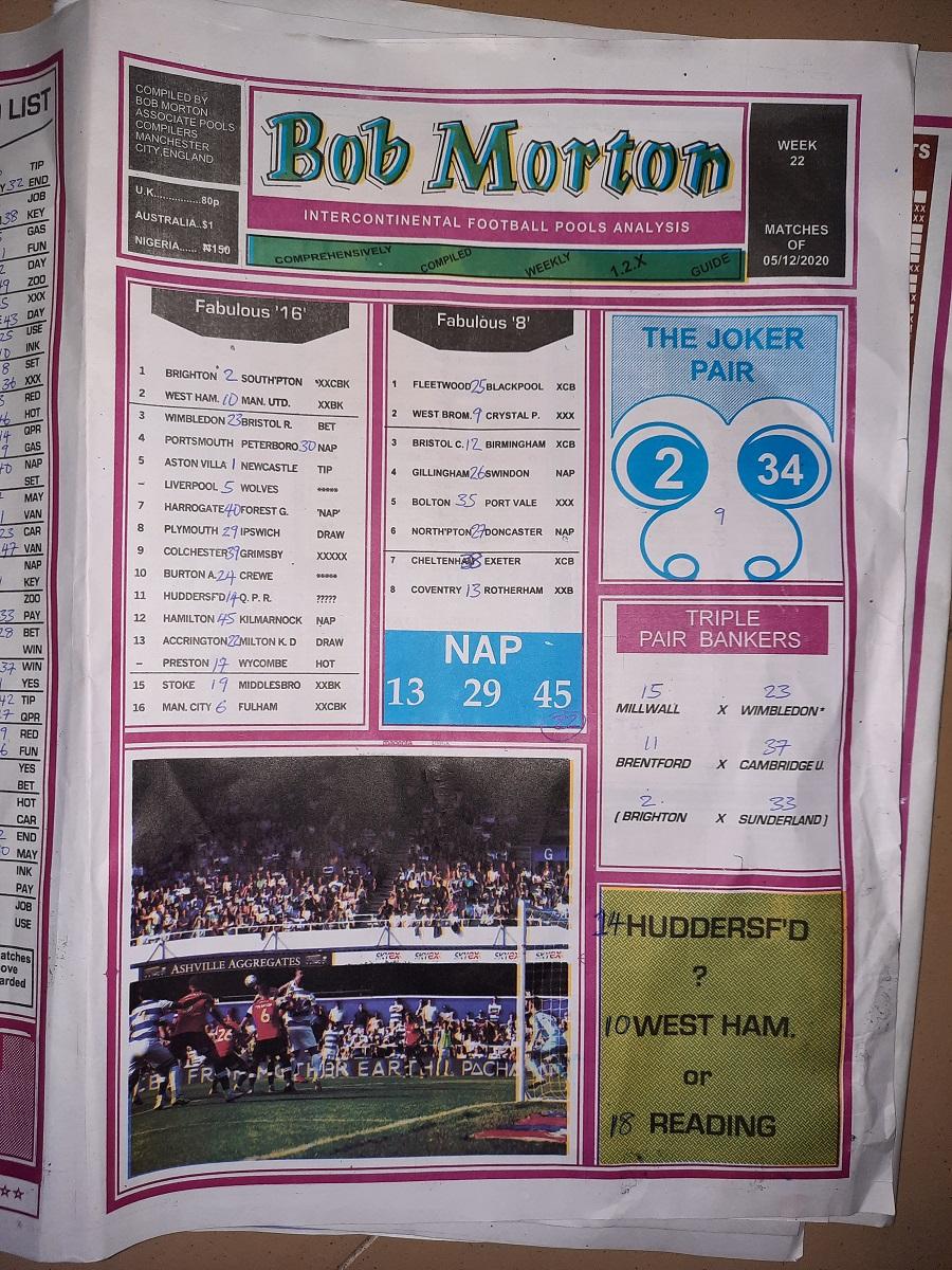 week 22 bob morton 2020 page 1