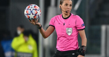 Stephanie Frappart named as first woman to officiate at mens European Championships