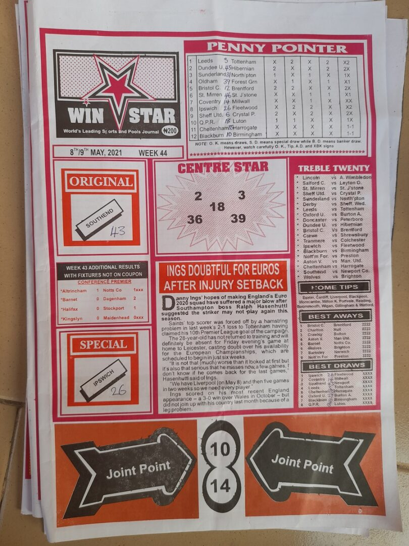 week 44 winstar 2021 page 1