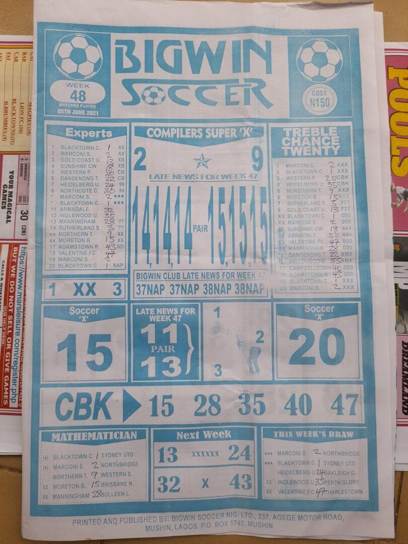 week 48 bigwin soccer 2021 page 1