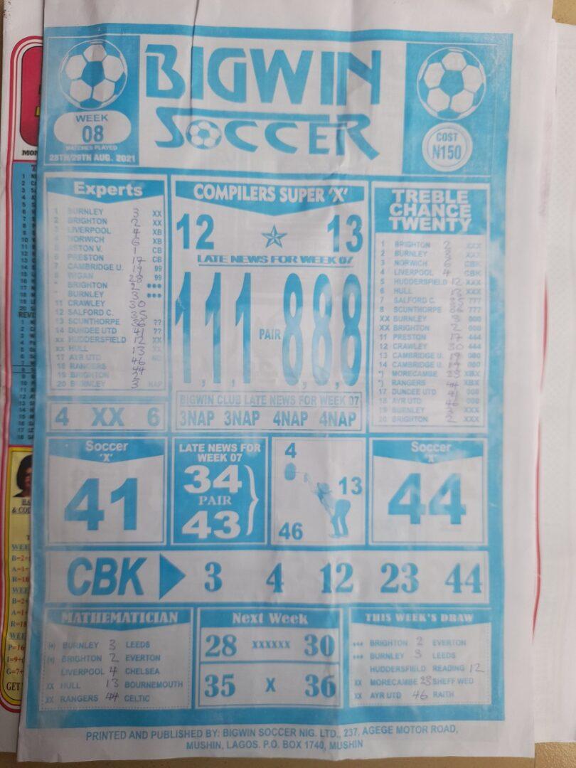 week 8 bigwin soccer 2021 page 1