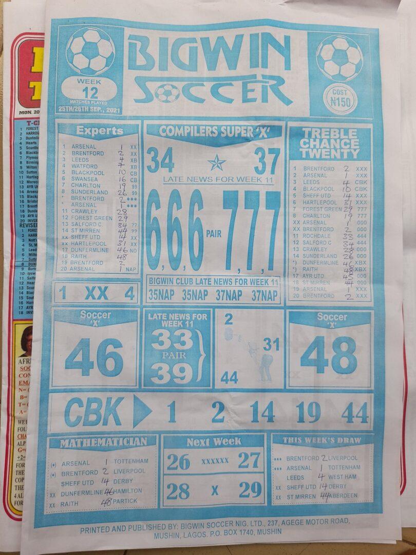 week 12 bigwin soccer page 1